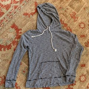 Forever21 striped hoodie